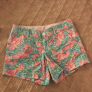 Lilly Pulitzer Lobster Shorts 4